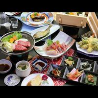 冬季限定タイムセール☆【-sakura桜-】厳選した国産和牛の陶板焼きと旬の食材を贅沢に