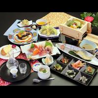 冬季限定タイムセール☆【-momo桃-】海の幸満載♪野菜たっぷり料理と豪華刺身7点盛り♪