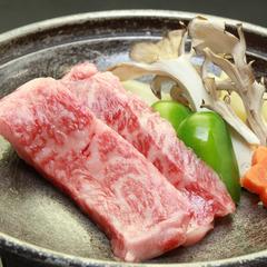 メインはお肉も魚も両方食べたい!!和牛ステーキと熱々鮎の炭火焼き♪ワンドリンク特典付きの大満足プラン