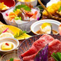 【リーズナブルに山中温泉を♪四季の山中御膳】牛肉の鍋料理や旬魚など。海の幸と山の幸を少しずつ集めて!