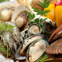 【夏限定】【海鮮BBQ&朝食付】プライベートビーチで海の幸☆BBQディナー&朝食付プラン♪