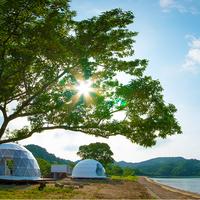 【2020年7月New Open】海辺に泊まるー素泊まりプラン/伊勢志摩で海辺に一番近いグランピング