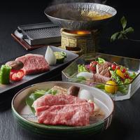 【松阪牛づくし】証明書付き/A4ランク以上の松阪牛を贅沢に★炙り握り・鉄板焼き・すき鍋で