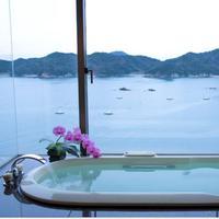 【1日1組限定】【貴賓室】海を見渡すパノラマジャグジーバス付 〜スイートルームで最上のくつろぎを〜