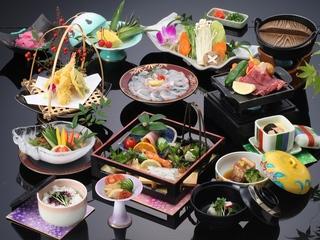 選べる会席♪旬の三大味覚OR水揚げ量豊富な長崎の鯛しゃぶ