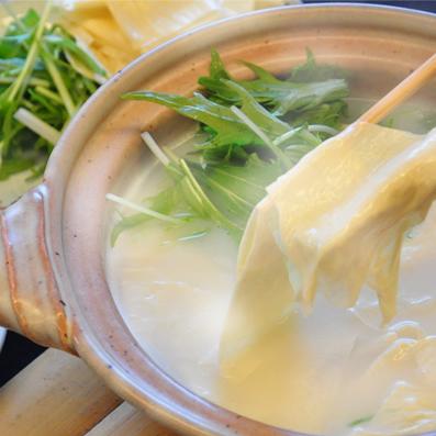 【一泊朝食付き】旅館の朝ごはんは『京都ならではのゆばしゃぶプラン』