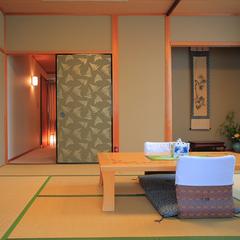 別館10畳+広縁2畳/二階(ユニットバス、大浴場あり・禁煙)