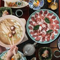 【冬得】『老舗の味』旬の猪肉を堪能≪牡丹鍋と京料理プラン≫