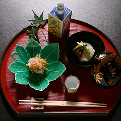 【お部屋食】【基本プラン】南禅寺と四季の京料理を満喫≪京料理一泊二食付プラン≫