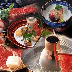 【夕食のみ】八千代が吟味したA5の国産牛を堪能≪京料理・しゃぶしゃぶ上コース≫