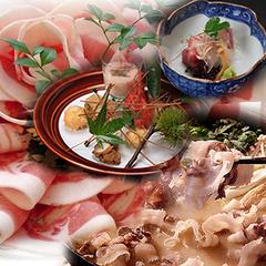 【グループ限定】【夕食のみ】『老舗の味』旬の猪肉を堪能≪牡丹鍋と京料理プラン≫