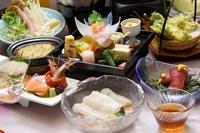 【お一人旅応援!】北海道ならではの旬の味覚!*期間限定*季節の味覚【━春会席 ━】プラン♪