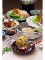 【お一人旅応援!】北海道ならではの旬の味覚!*期間限定*季節の味覚【━夏会席 ━】プラン♪