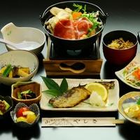 【選べるメイン】お手頃♪いのぶた鍋 or いのぶた陶板焼き♪好きな方を選べる★プラン