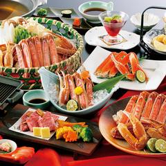 【女将一押し】「カニ+和牛ステーキコース」 和牛ステーキ付きで大満足!! 【平日2名料金UPなし】