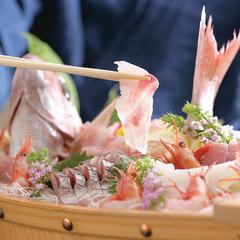 【板長厳選舟盛付き】「舟盛り付きカニフルコース」 新鮮な造りで魚も満喫!!【平日2名料金UPなし】