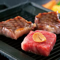 【丹後の味力贅沢御膳】 「丹後秋の彩り会席」にジューシーな和牛ステーキをプラスした贅沢な満腹プラン♪