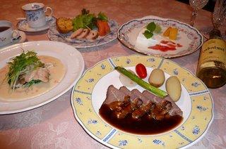 欧風料理・一泊2食付きプラン