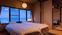 【禁煙】【和室二間】太平洋一望の海側客室