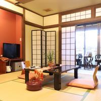 本館1階【竹姫】10畳和室/縁側,洗面,バス,トイレ(禁煙)