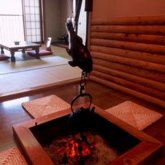 【清月】2階10畳和室/囲炉裏・洗面・バス・シャワートイレ付