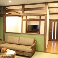 本館1階【くれ竹】8畳和室+6畳ベッドルーム(禁煙)
