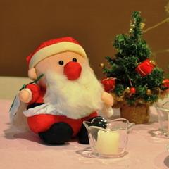 【クリスマスプラン】さむ〜い冬に、ほっとな時間を演出★2つの特典&ミニコンサートあり