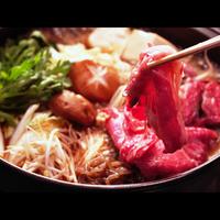 【一押し!すきやき鍋プラン】安い×美味い×ボリューム満点♪神鍋野菜と召し上がれ★