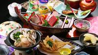 【スタンダード】新鮮!海鮮料理&源泉かけ流し天然温泉を楽しむ♪ハワイアンズまで車で約10分◎
