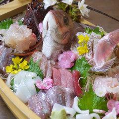 【お祝いプラン】伊勢海老付舟盛・アワビ・伊勢海老陶板焼・さざえつぼ焼き