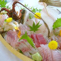 【伊勢海老好きはこちら】伊勢海老の舟盛り付きプラン。ギョギョギョ!明朝には味噌汁に変身