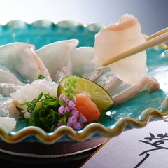 【超豪華】幻の魚『クエ』のフルコース♪ 九絵づくしプラン【伊勢海老付】