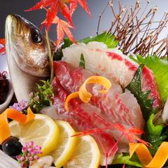 【鮑お造り】厳選された白浜の地魚お造りスペシャルプラン会席【伊勢海老お造り】