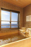 【東海亭】大人気の客室展望風呂で癒されよう【和食会席膳】