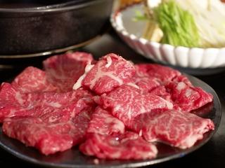 【レストラン食】道産牛 すき焼きプラン【海側 和室】