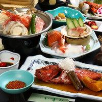 【旬海鮮満喫プラン/お食事処】お魚好きにはたまらない!新鮮魚介に舌鼓♪
