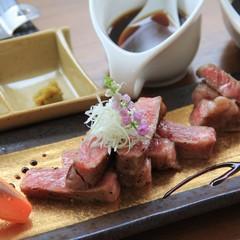 スーパーブランド☆佐賀牛の最上級ステーキ付♪肉汁ロースor柔らかヒレ旬菜旬魚の懐石courseプラン
