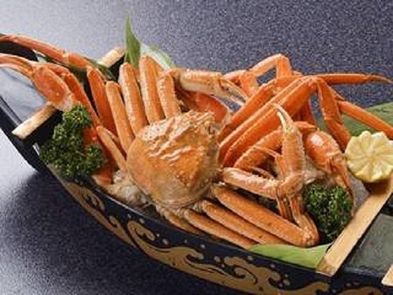 【期間限定】本ずわい蟹1杯付き! 1泊2食バイキング 無料飲み放題付き