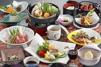 上州牛すき焼きがメイン!厳選された冬の食材をお楽しみください!!『冬の清流プラン』