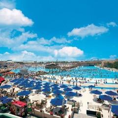 【ラグーナプールパスポート付】夏満喫!車で5分、プールと温泉両方楽しもう♪1泊朝食付き<お食事処>