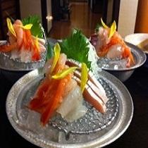【アツアツ越前蟹♪】味覚の王者☆茹でたてアツアツ越前蟹と地魚の両方楽しめるミックスコース
