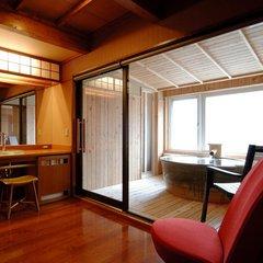 【禁煙・高層階】露天風展望風呂付客室C
