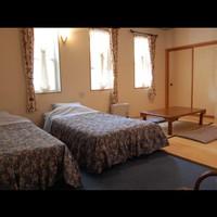 ダイアナ館・ツインベッド+畳でごろん♪和洋室(2階)