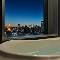 【東京タワービュー確約】ビューバスルームで極上ステイ <朝食付>