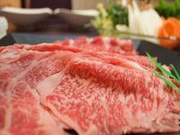☆超豪華!!【岡山県産・黒毛和牛のサーロイン・リブロース・モモですき焼きを堪能♪】