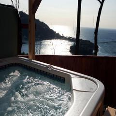 【スタンダード】☆★露天風展望風呂付き客室♪海、夕陽を見ながら自然の中でのんびりと♪プラン★☆