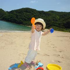 《夏休みファミリー向け》◎お子様三大特典♪お菓子◆花火◆◎無人島でドキドキ海水浴♪