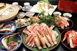 【冬】「ホンモノの地ガニが食べたい!」選別日本一「柴山ガニ」!!港直送!極上活松葉かにフルコース♪
