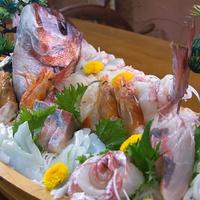 【記念日・お祝いに最適♪】鯛の船盛り付プラン「3密回避」