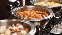 選べるメイン(活鮑陶板焼or国産黒毛和牛)&オリジナルビュッフェ!お料理満喫プラン